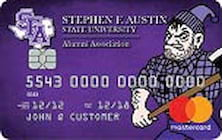stephen f austin state university credit card