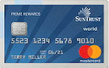 suntrust prime rewards credit card