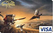 terry redlin visa credit card