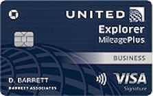united mileage plus business credit card