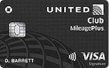 united mileageplus club credit card