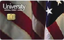 university federal credit union cash back card