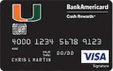 university of miami credit card