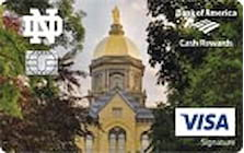 university of notre dame credit card