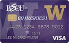 university of washington credit card