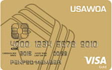 us army warrant officers association visa gold