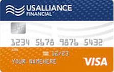 usalliance credit union throwback visa classic credit card