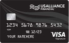 usalliance credit union visa signature credit card