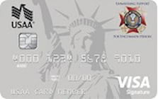 veterans of foreign wars auxiliary credit card