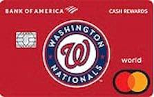 washington nationals credit card