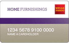wells fargo home furnishings credit card