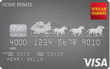 wells fargo home rebate card