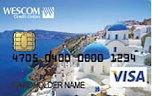 wescom myrewards visa credit card