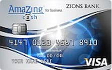 zions bank amazing cash business credit card
