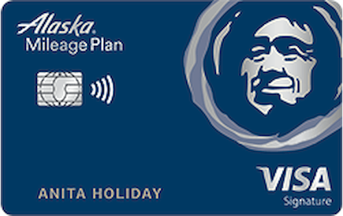 alaska airlines credit card
