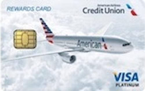 american airlines federal credit union visa platinum rewards credit card