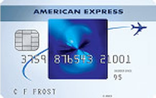 american express blue sky