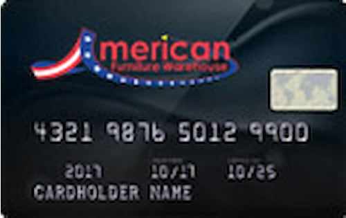 american furniture warehouse credit card