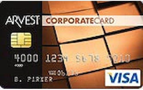 arvest bank corporate credit card