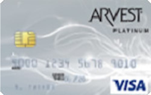 arvest bank visa platinum credit card