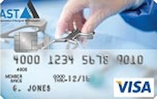 association of surgical technologists credit card