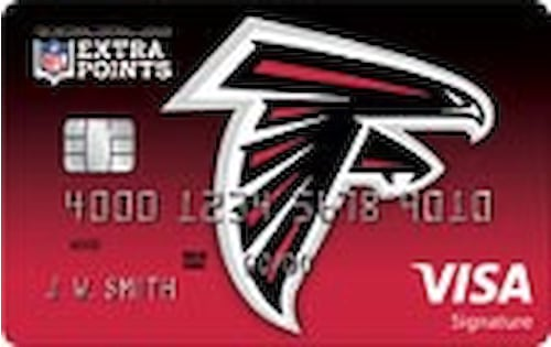 atlanta falcons credit card