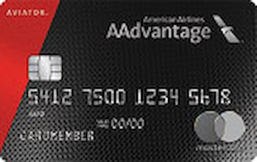 aviator red mastercard credit card