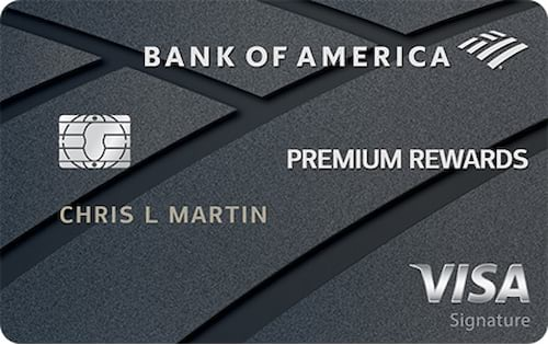 bank of america premium rewards credit card