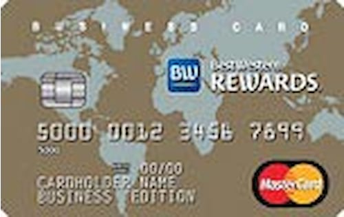best western business credit card