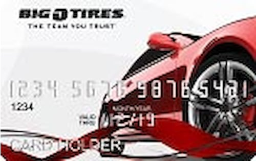 big o tires credit card
