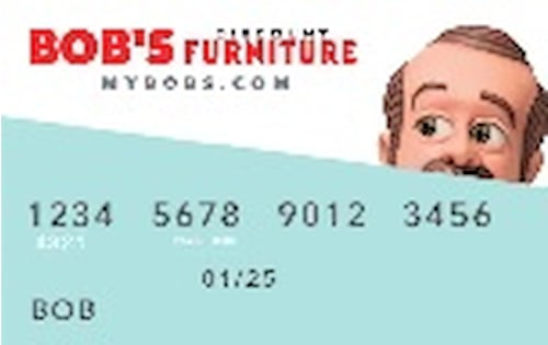 bobs furniture credit card