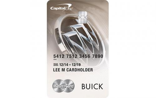 buick credit card