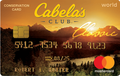 cabelas credit card