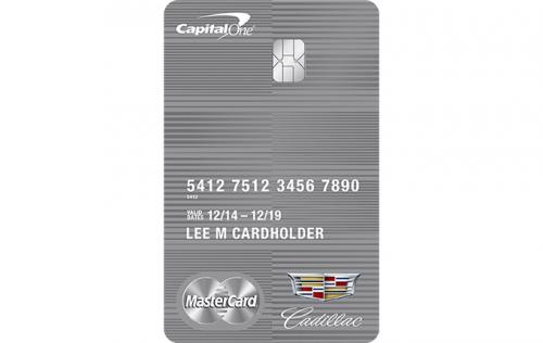 cadillac credit card