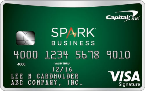 capital one spark cash