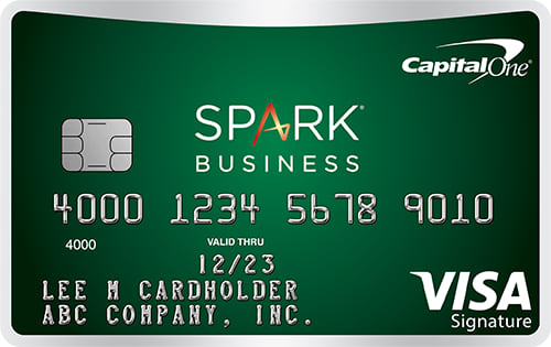 capital one spark cash select