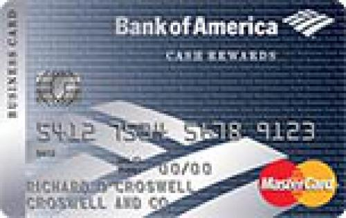 cash rewards for business mastercard credit card
