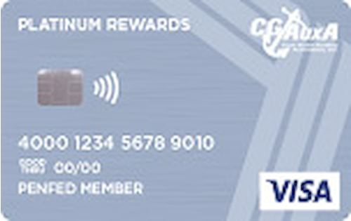 cgauxa penfed platinum rewards