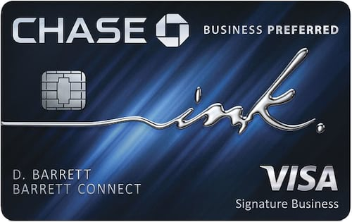 chase ink preferred credit card