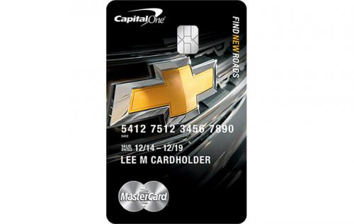 chevrolet credit card