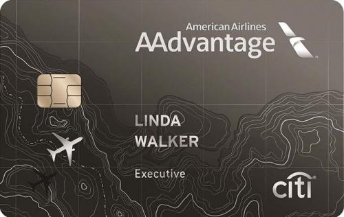 citi executive aadvantage credit card