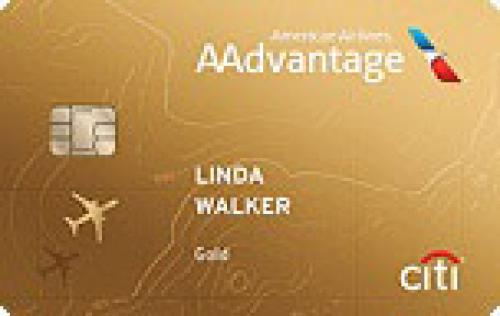 citi gold aadvantage credit card