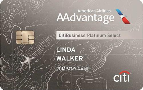 citibusiness aadvantage card
