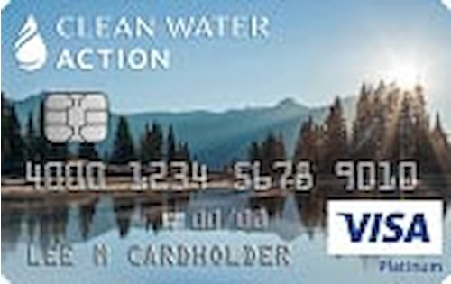 clean water action credit card