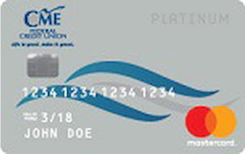 cme federal credit union mastercard platinum
