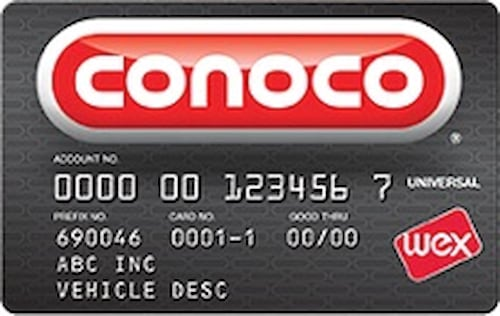 conoco fleet universal card