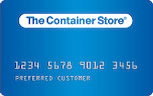 container store credit card