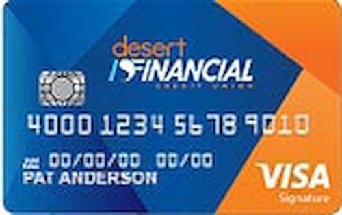 desert schools federal credit union visa bonus rewards card