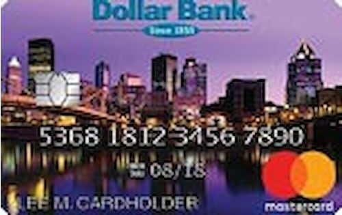 dollar bank city pride visa credit card