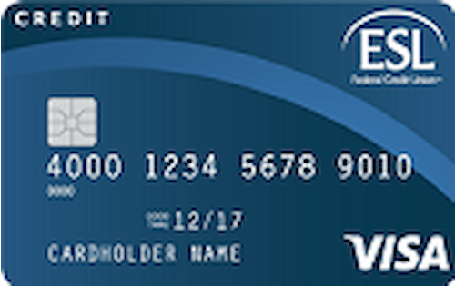 esl federal credit union secured credit card